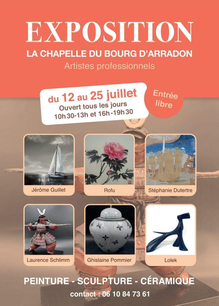 Exposition à la chapelle du bourg d'Arradon